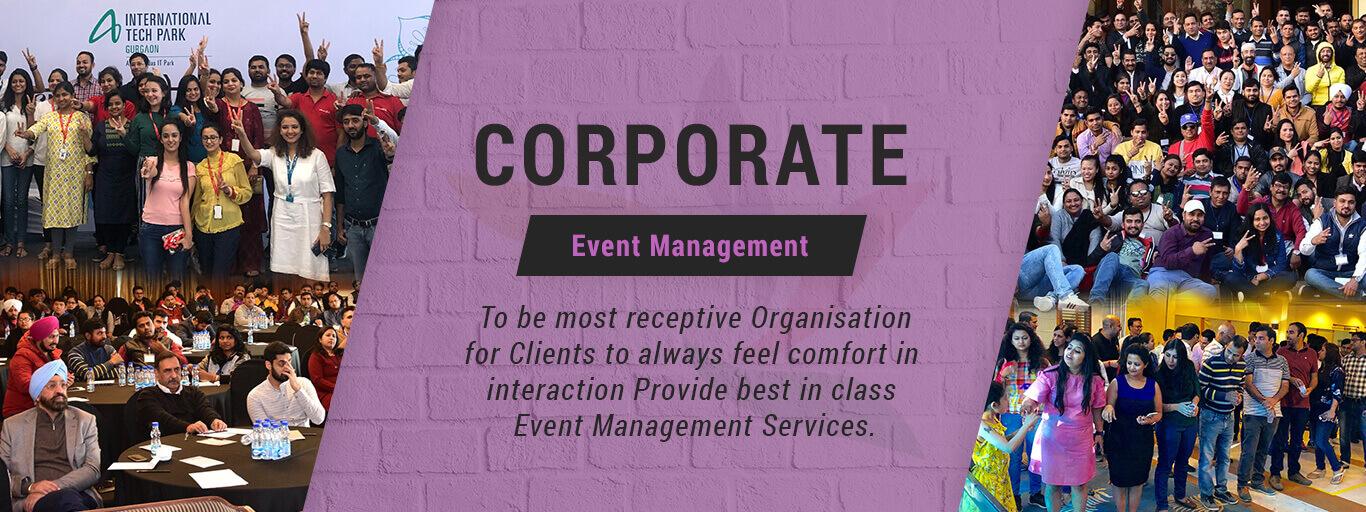 Sports Event Management, Corporate Event Management